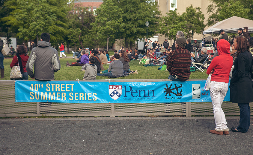 40th street concert series