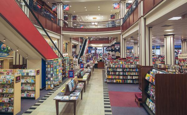 a79f537cac50 Inside the University of Pennsylvania Bookstore.