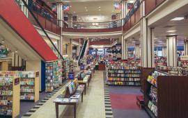 Inside the University of Pennsylvania Bookstore.