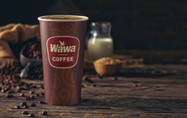 Coffee from Wawa.