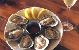 oysters at tipsy bistro
