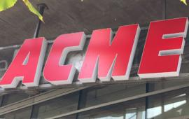 acme logo sign