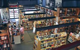 bookshop from above